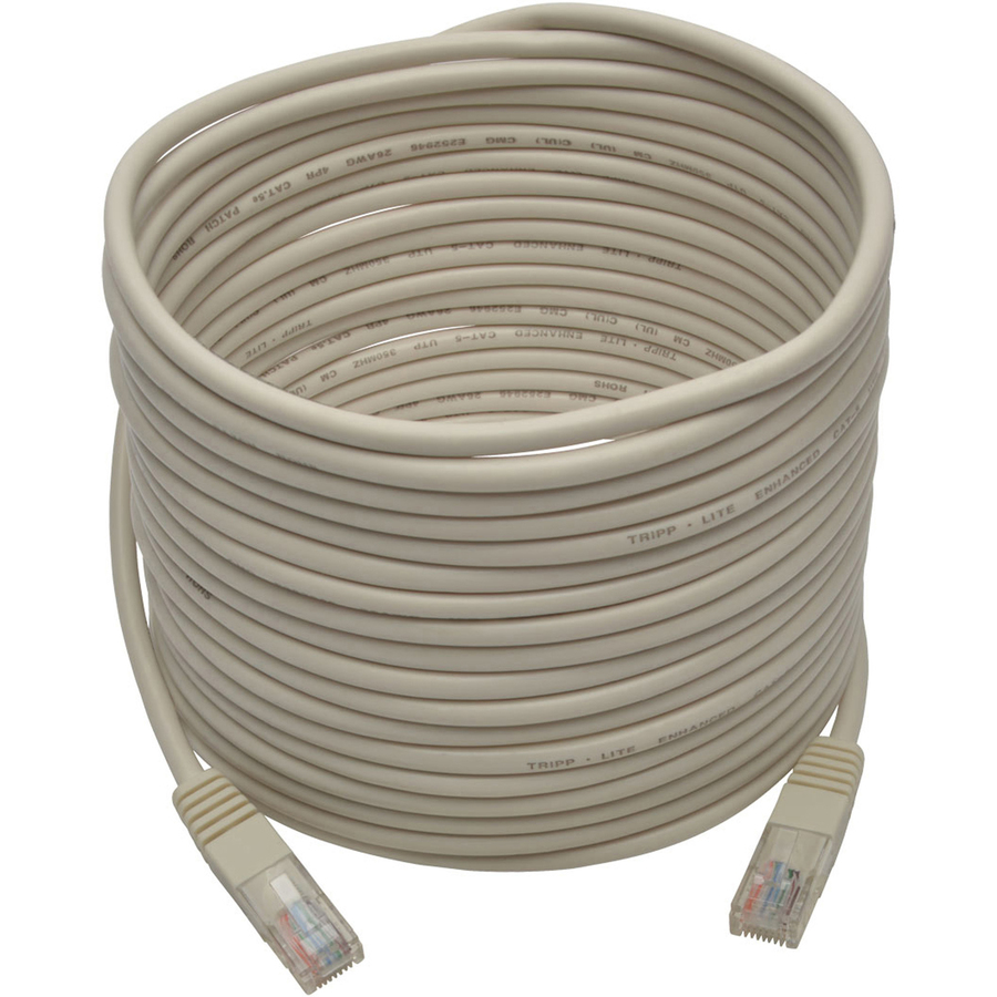 Black Tripp Lite CAT5e Molded Patch Cable 14 ft CAT5e Molded Patch Cable