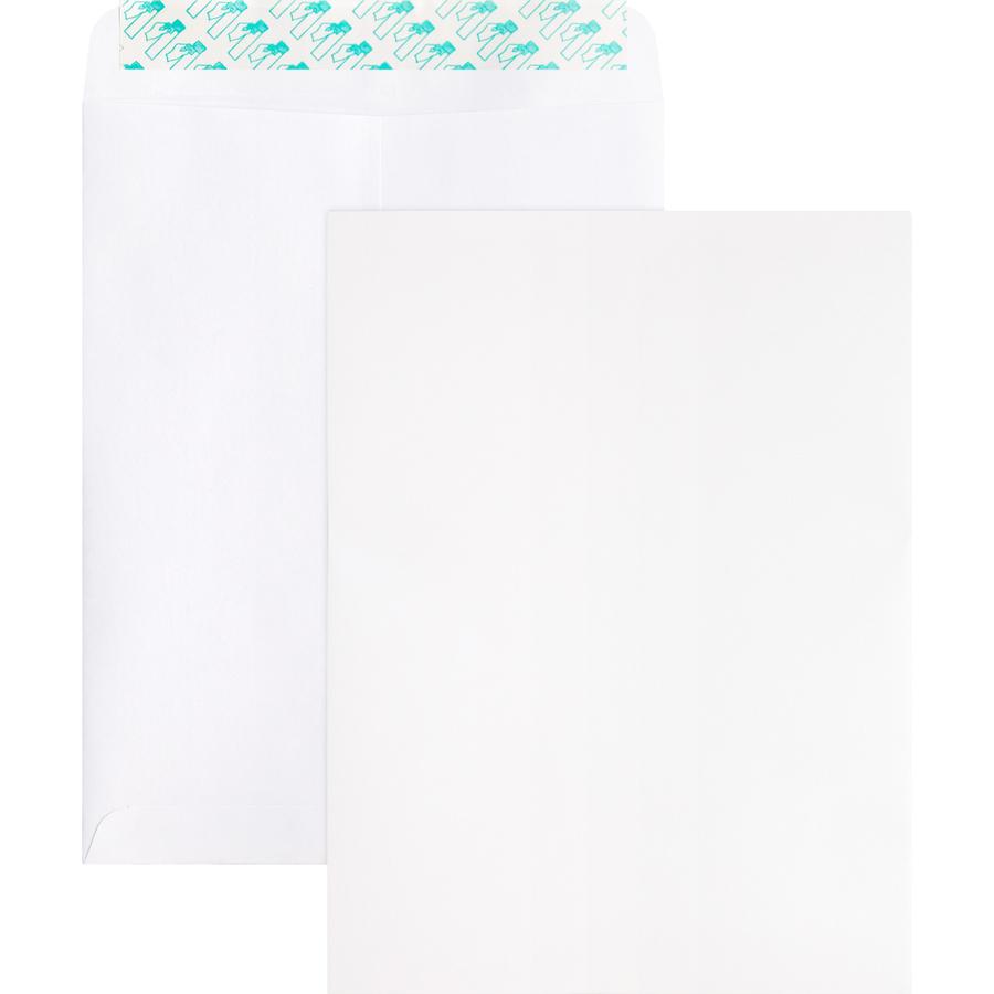 Business Source Plain Peel//Seal Business Envelopes