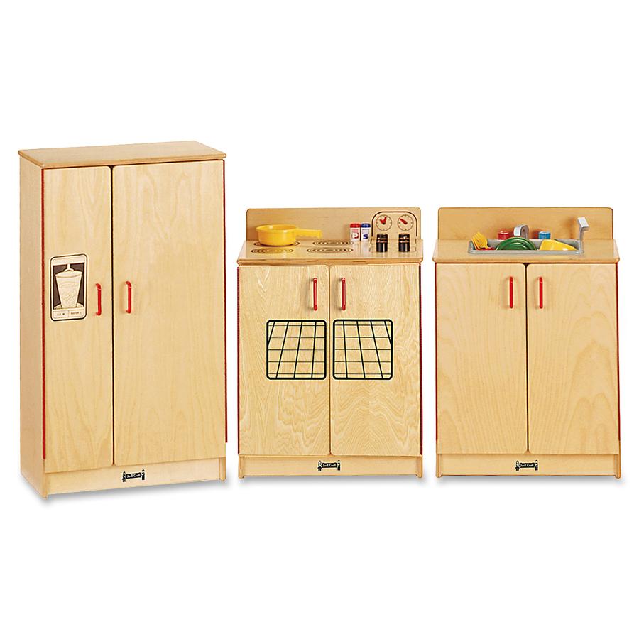 Jonti-craft, Inc Jonti-craft - Natural Birch 3-piece Play Kitchen Set - Wood