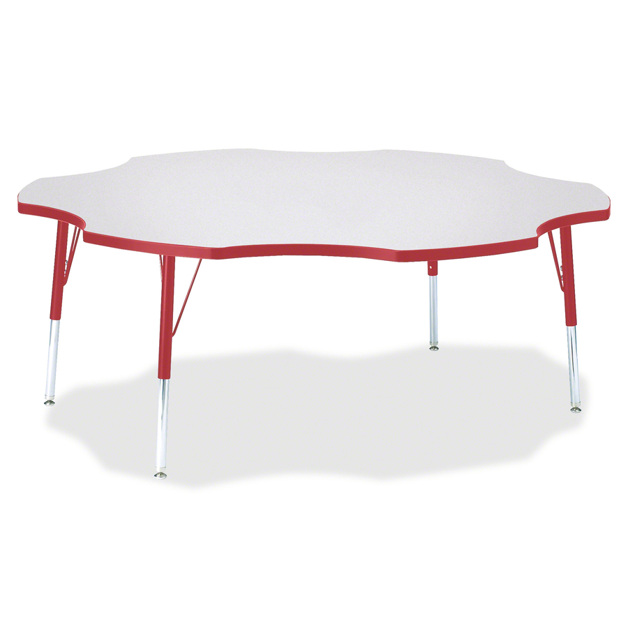 Berries Elementary Height Prism Six Leaf Table