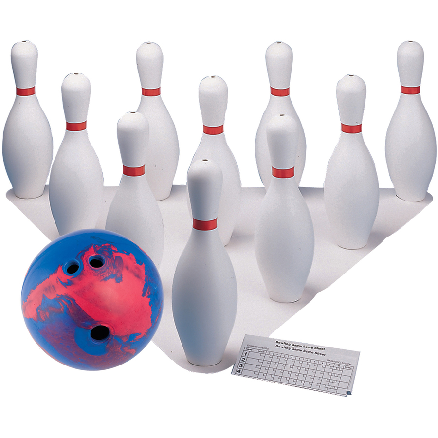 Champion Sport S Plastic Pin Bowling Ball Set