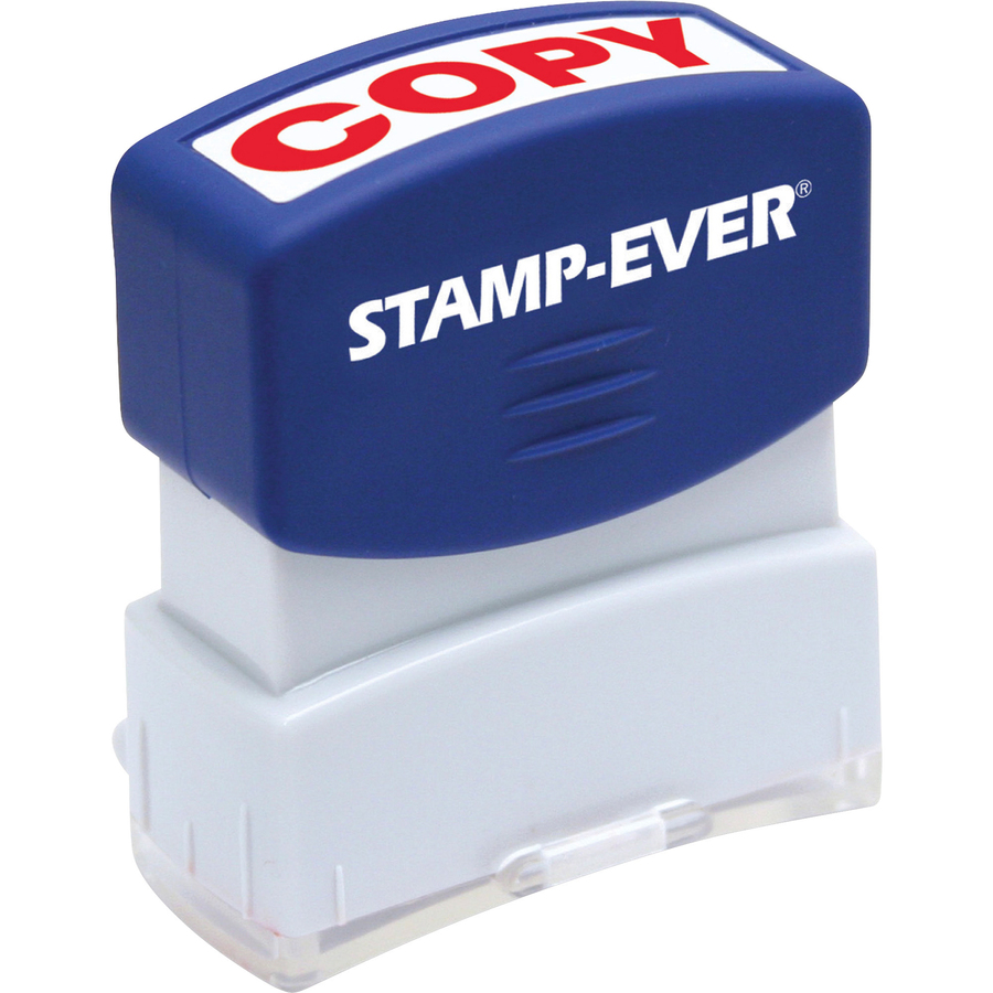 stamp ever pre inked red copy stamp mac papers inc