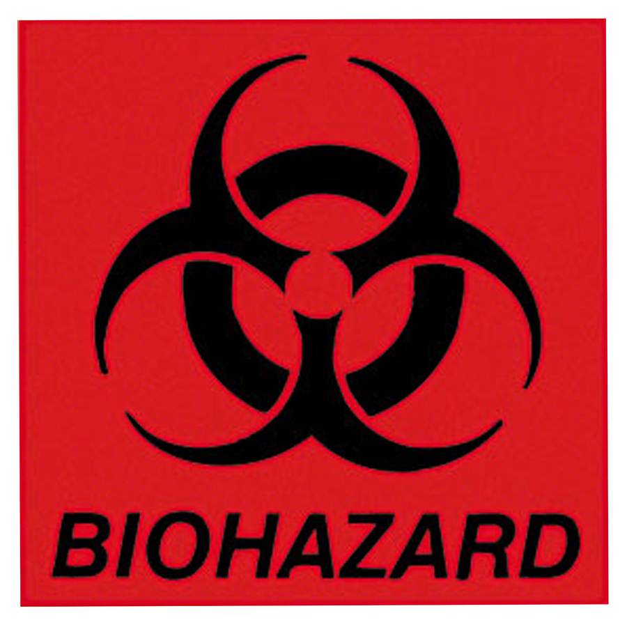 Discount Prices Rubbermaid Biohazard Label