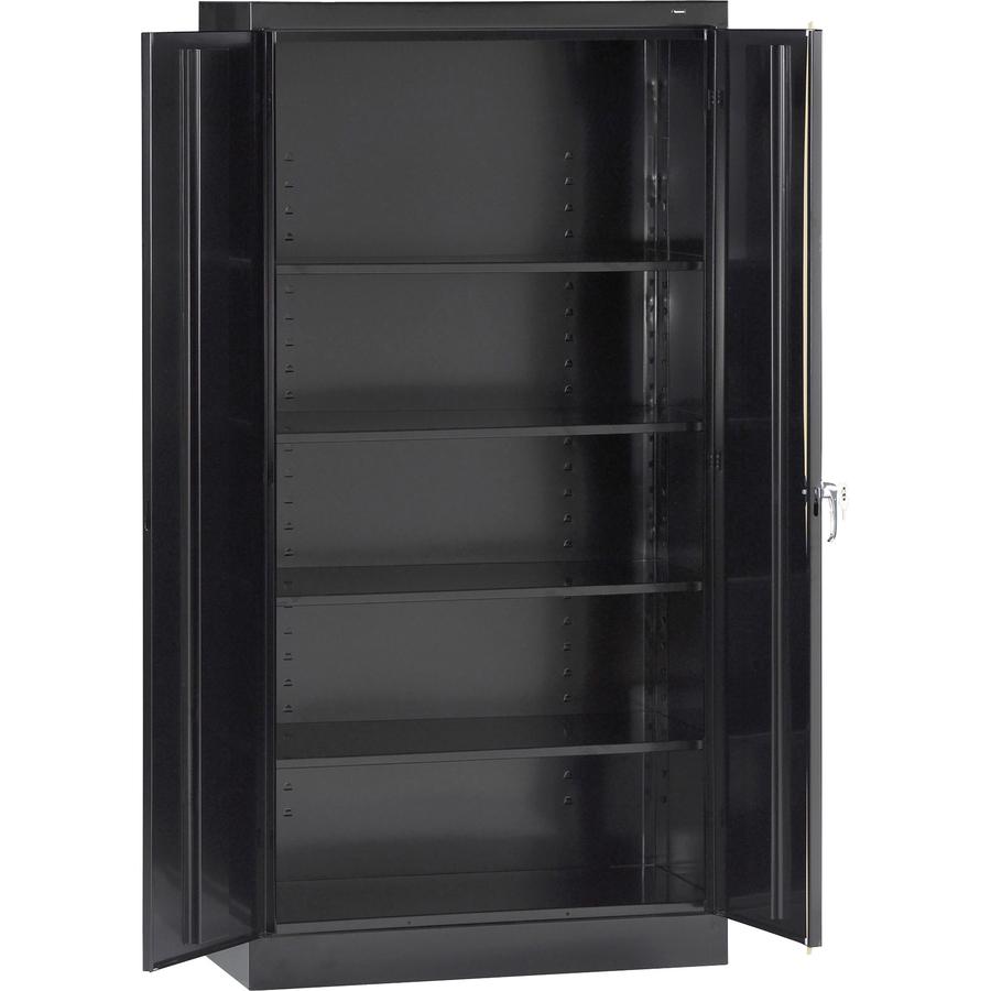 tnn7224bk tennsco 7224 standard storage cabinet zuma. Black Bedroom Furniture Sets. Home Design Ideas