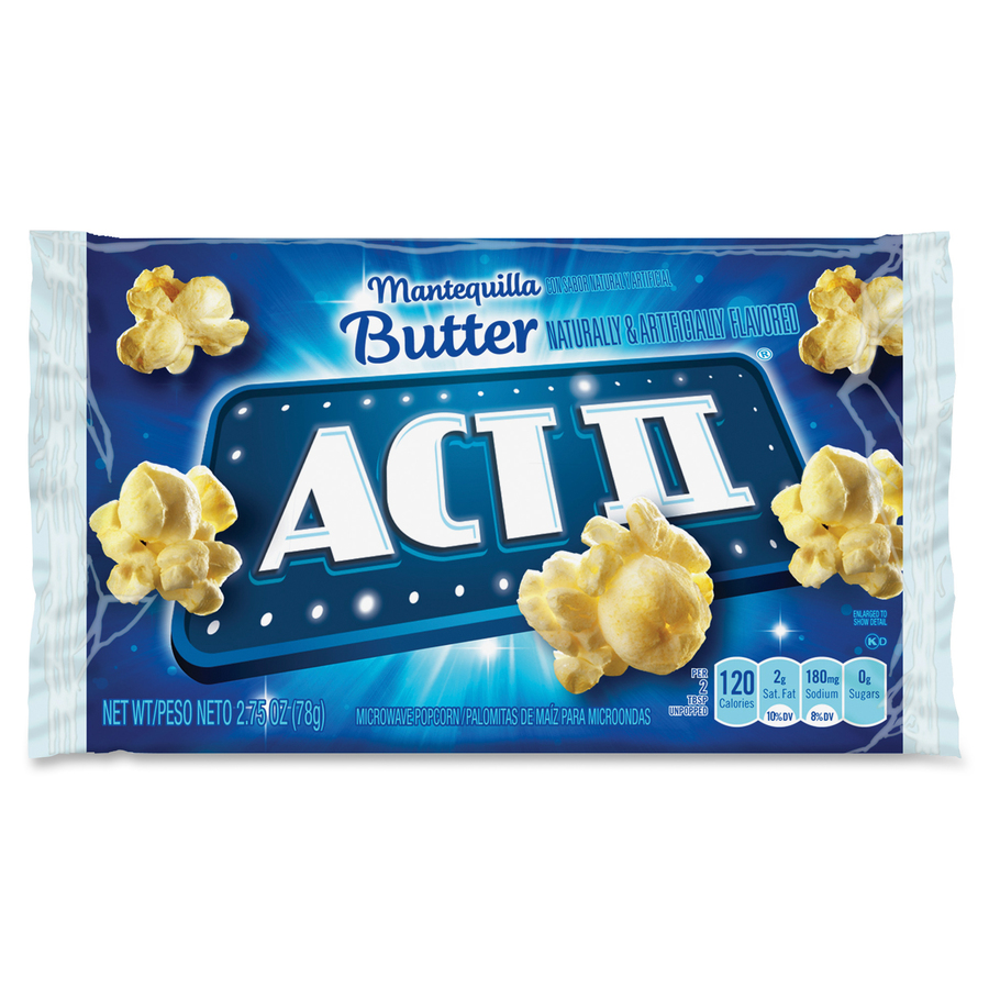 Act II ACT Butter Microwave Popcorn