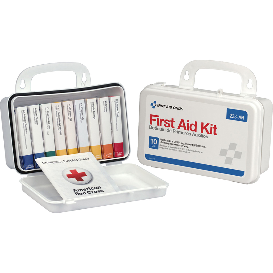 First Aid Only ANSI 10-unit First Aid Kit - 64 x Piece(s) - 4 6