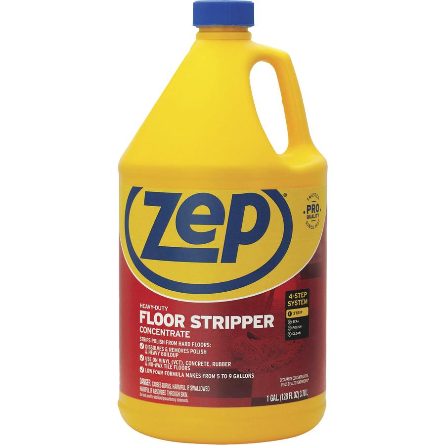 Zep Floor Stripper Zpezulffs128 Supplygeeks Com