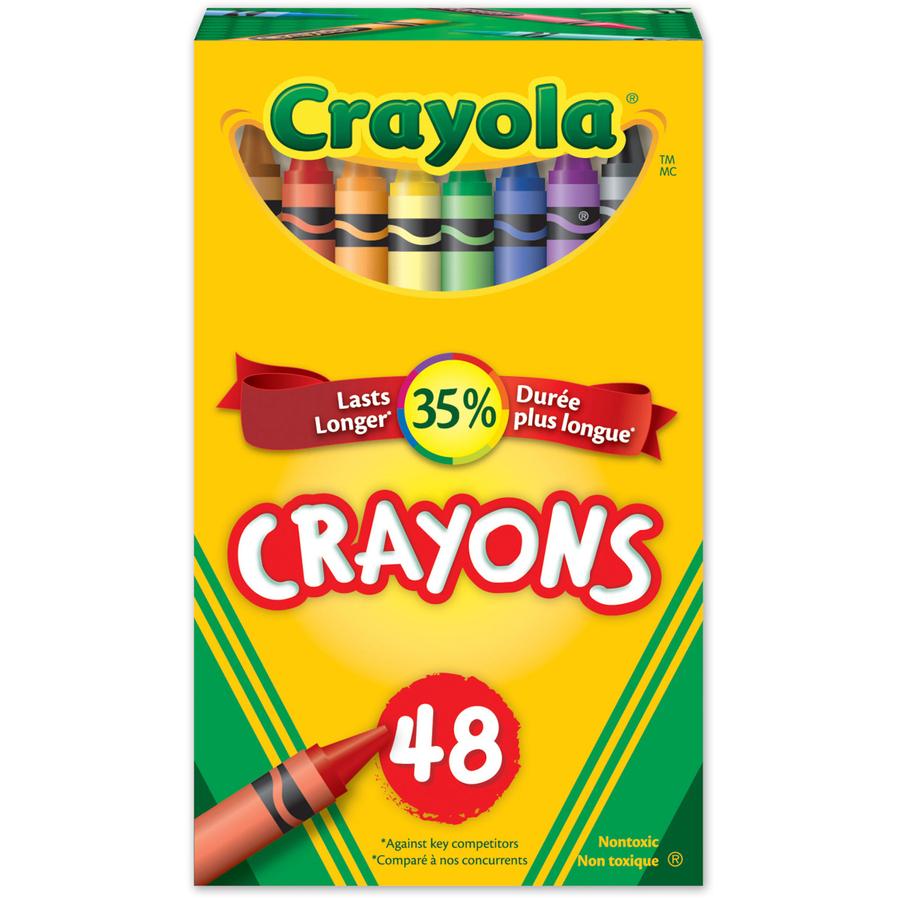 Wholesale School Supplies Crayola 48 Crayons Cyo520048