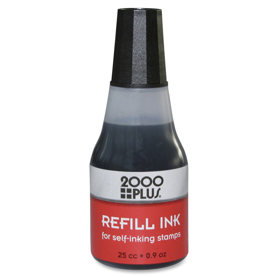 COSCO Self Inking Stamp Pad Refill Ink 1 Each