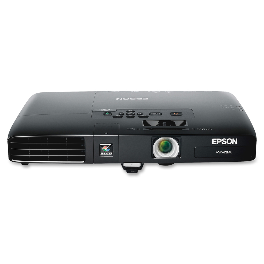 Epson Projector Screen : Epson powerlite w lcd projector hdtv