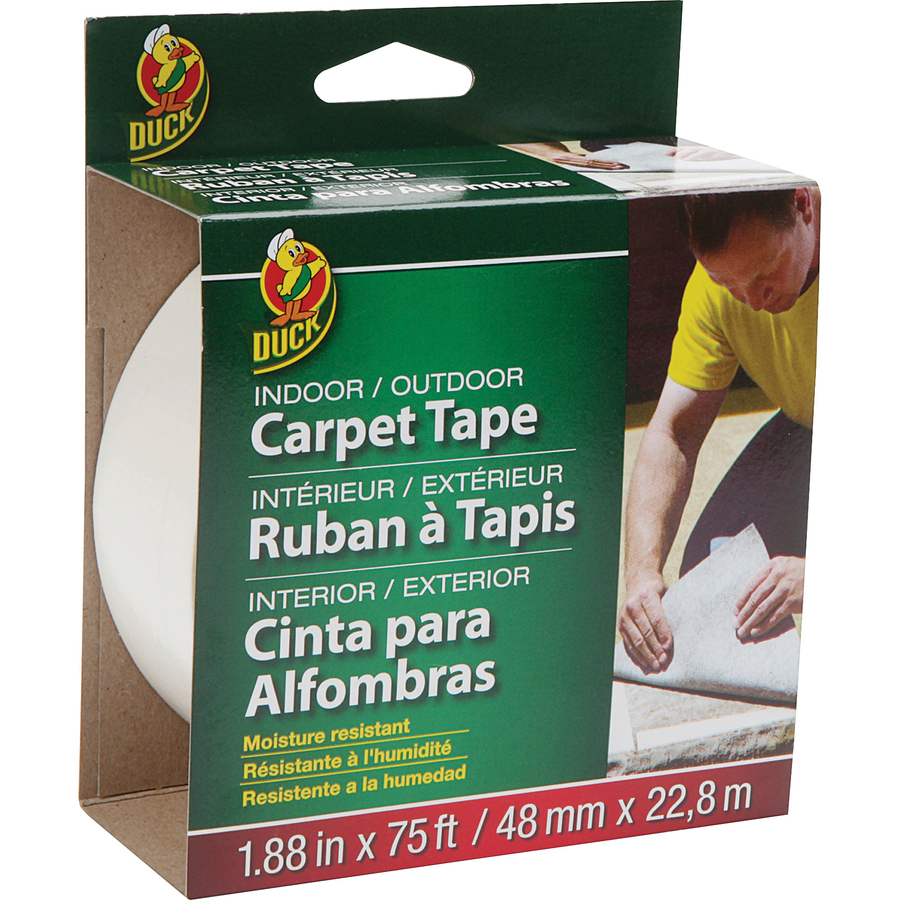 Duck Brand Brand Indoor Outdoor Double Sided Carpet Tape