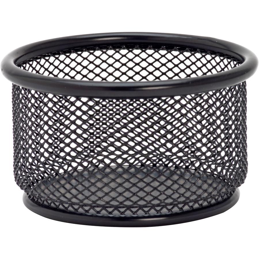 TTO Paper Clip Dispenser Wire Metal Black