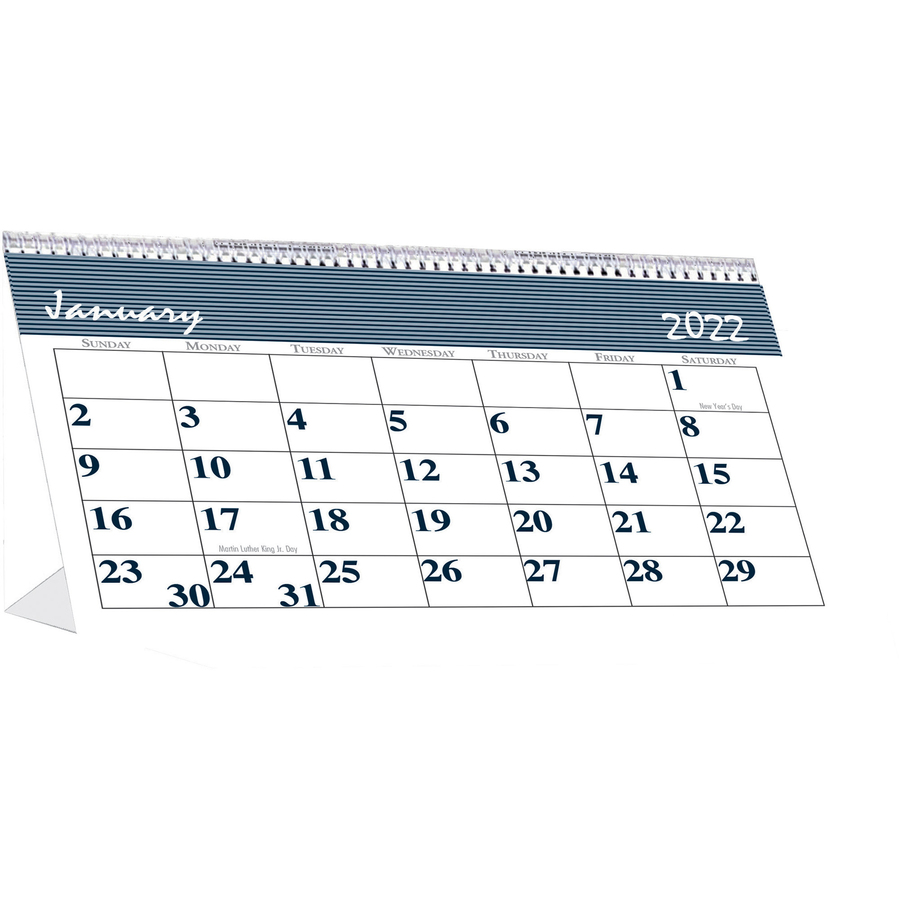 House of Doolittle Spiral Bound Tent Top Calendars - Yes - Monthly - January 2020 till December 2020 - 1 Month Double Page Layout - 7