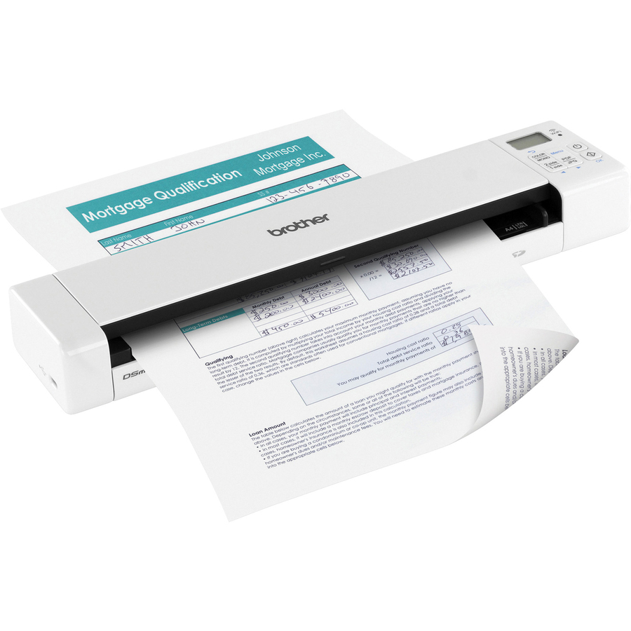 Brand New Brother DS-920DW Wireless Duplex Mobile Color Page Scanner