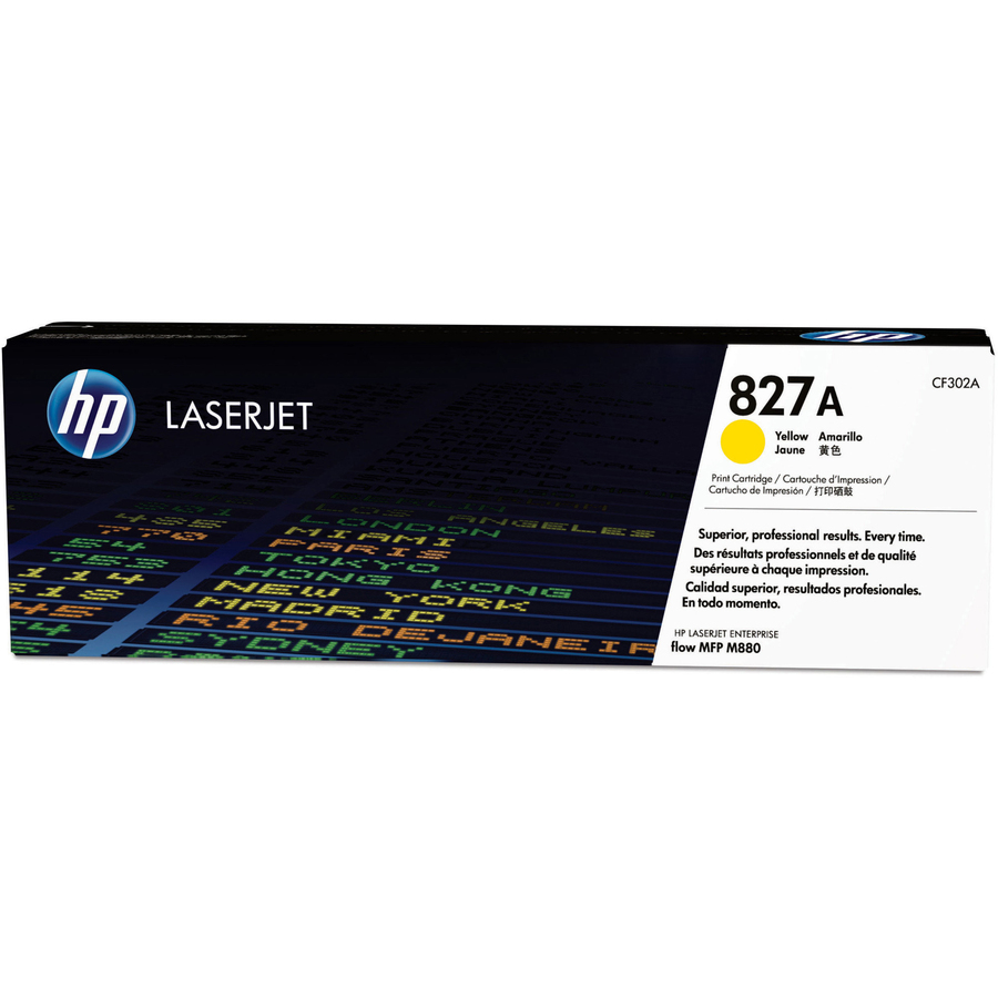HP 827A MSE Remanufactured Yellow Toner Cartridge for HP CF302A Yellow // 32,000