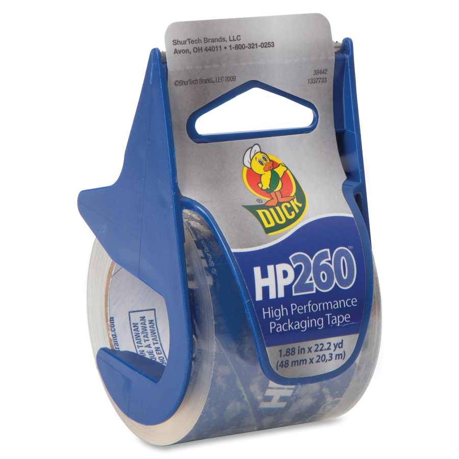 Free Shipping Duck Brand HP260 High Performance 3.1 Mil Packaging Tape 1.88-I..