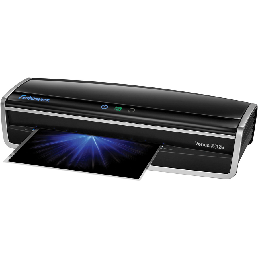 Fellowes Venus2 125 Laminator with Pouch Starter Kit - 12 50 Lamination  Width - 10 mil Lamination Thickness