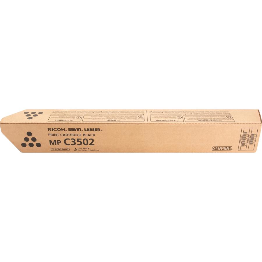Ricoh Toner Cartridge - Black - Laser - 28000 Pages - 1 Each
