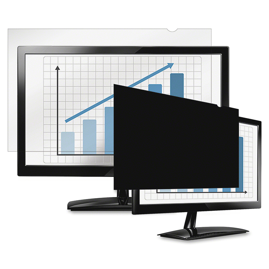 Fellowes, Inc Fellowes Privascreen Blackout Privacy Filter - 21 5 Wide -  For 21 5LCD Notebook, Monitor - Taa Compliant