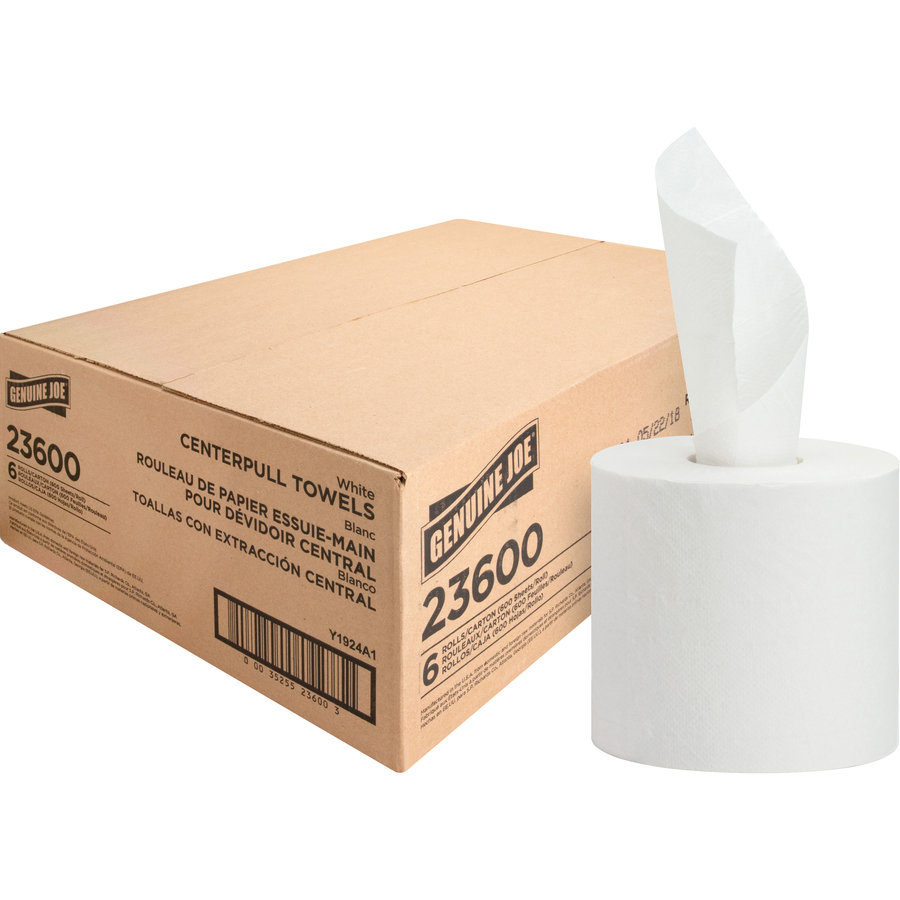 Genuine Joe 2-ply Jumbo Roll Toilet Paper GJO2565012 12 Rolls