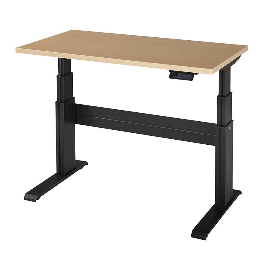 Ergonomic electric height adjustable desks elegante xt for Motorized adjustable height desk