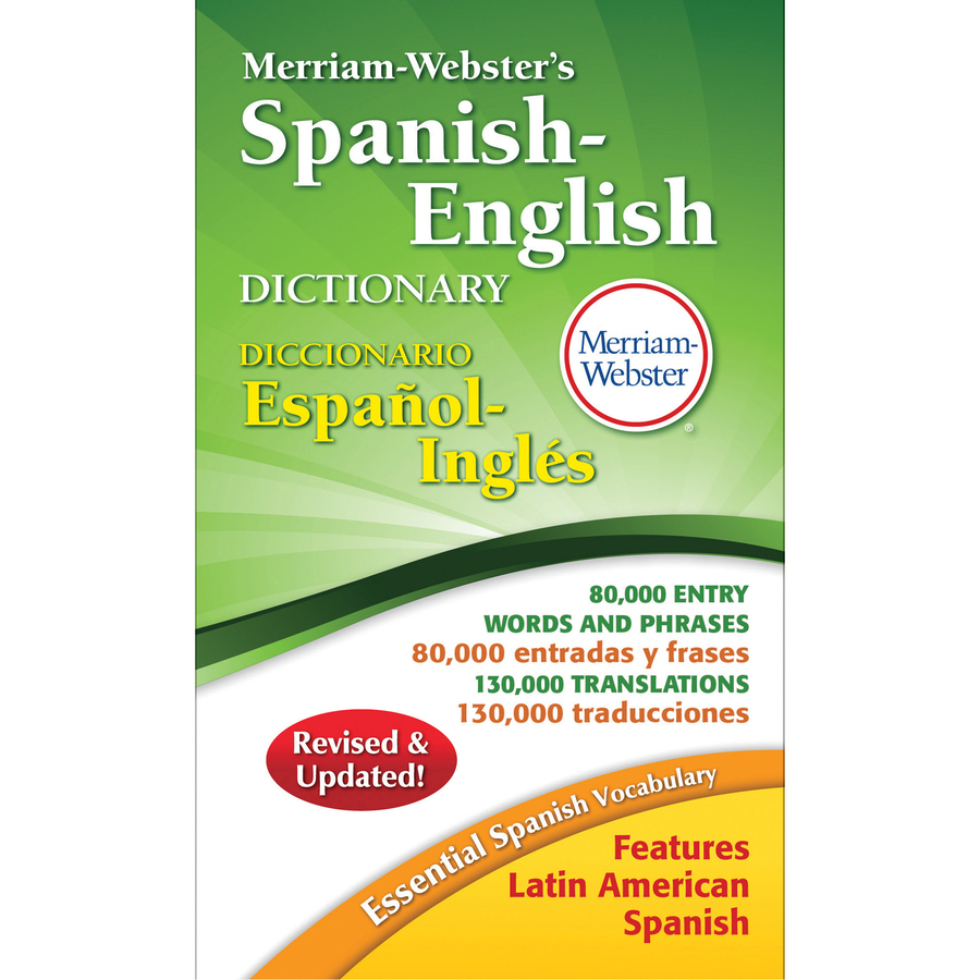 ... Spanish-English Dictionary Dictionary Printed Book - Spanish, English
