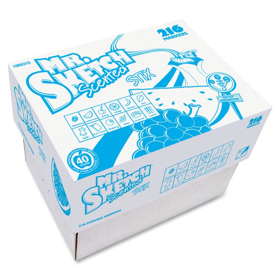 Mr. Sketch Stix Classpack Scented Markers
