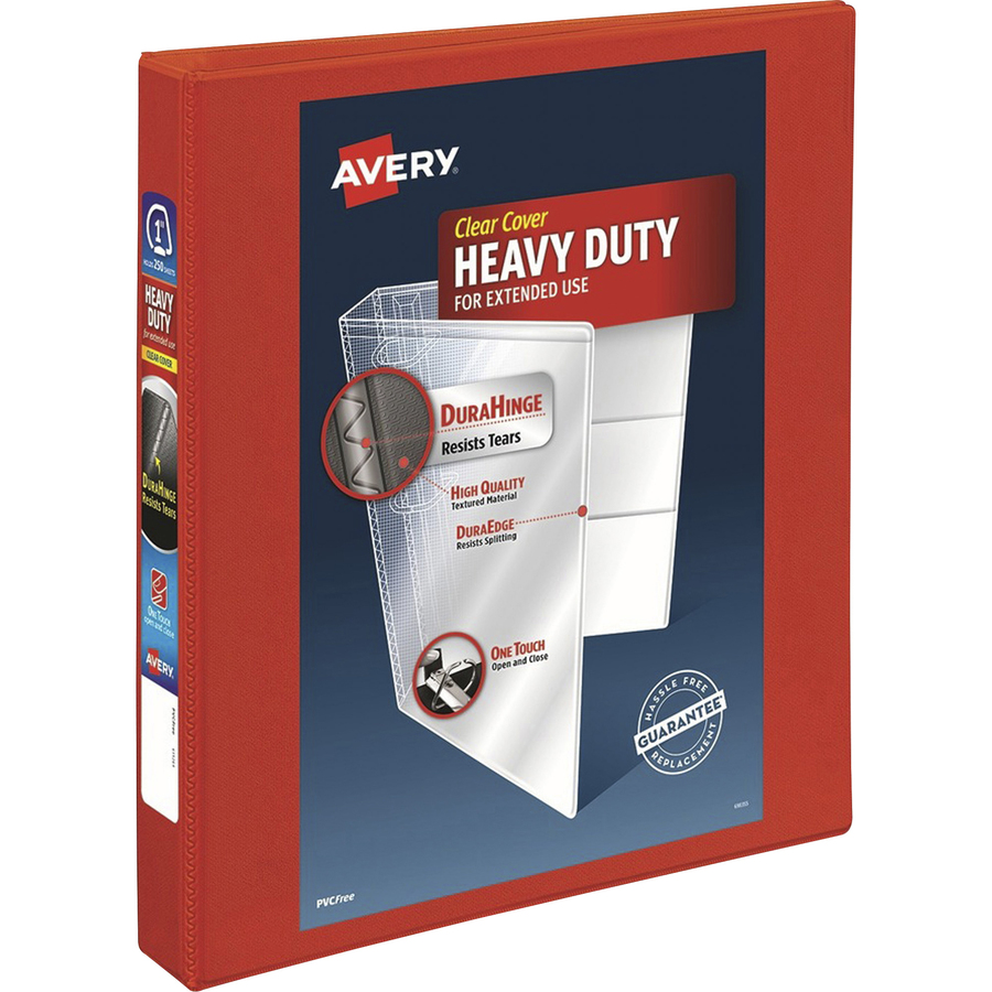 Avery Heavy Duty Ezd Ring Reference View Binders