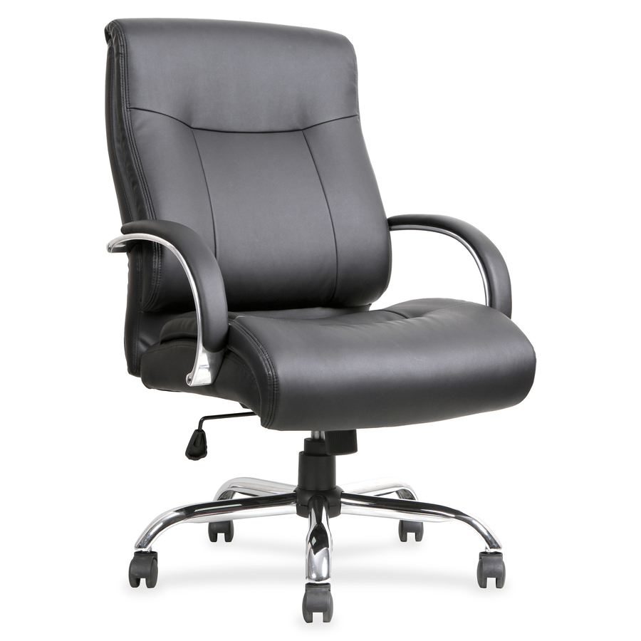 Lorell Leather Deluxe Tall Chair Llr40206