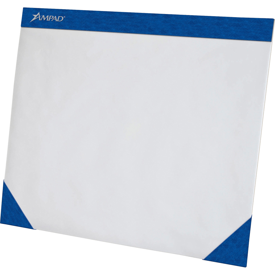 Magnificent Ampad Desk Pad Rectangle 22 Width X 17 Depth 50 Sheets Chipboard White Download Free Architecture Designs Barepgrimeyleaguecom