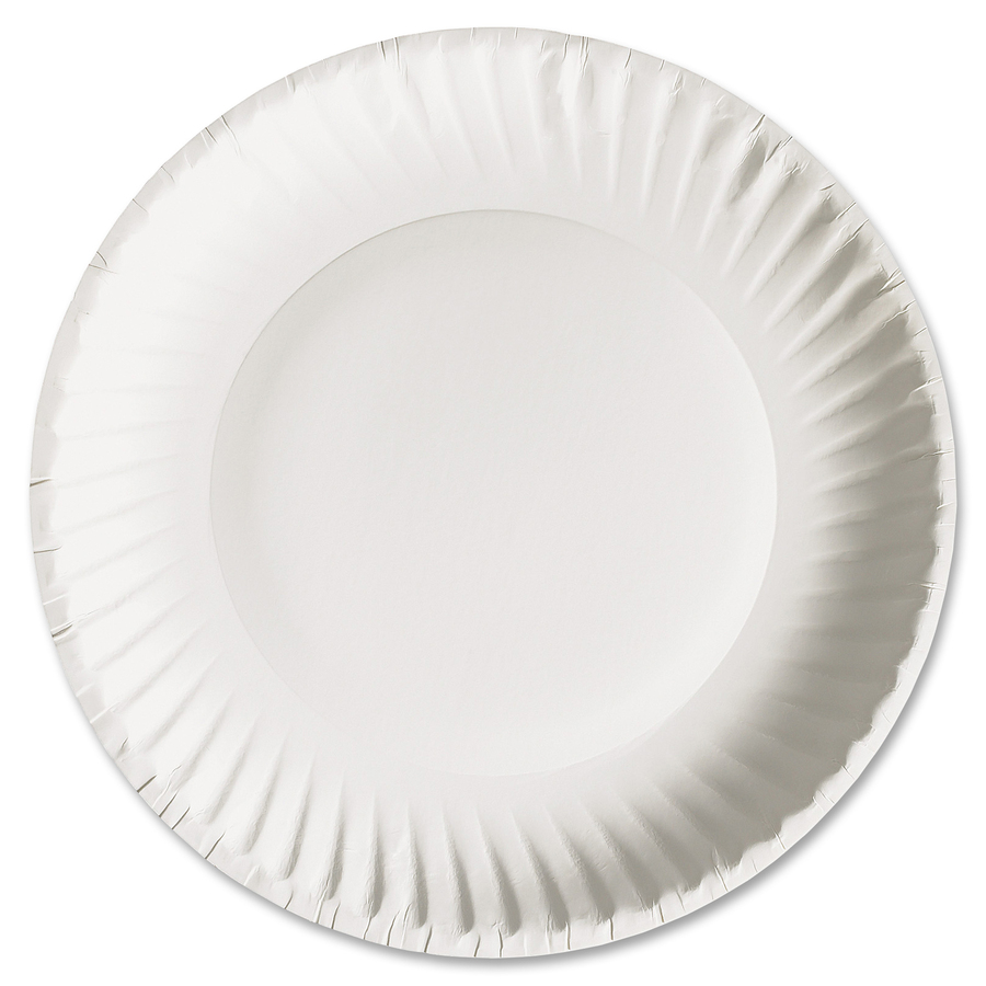 Bulk Ajm Packaging Green Label Economy Paper Plates