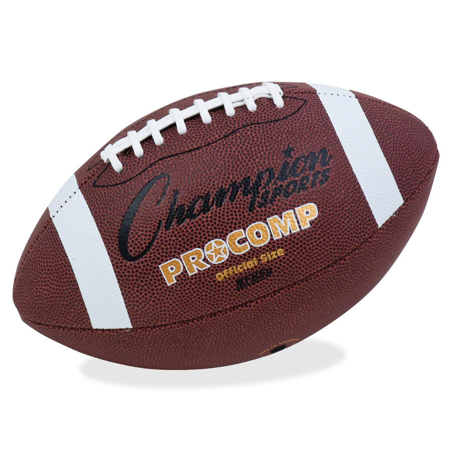 Champion Sport s Pro Comp Official Size Football - Urban Office Products b5137d035f3