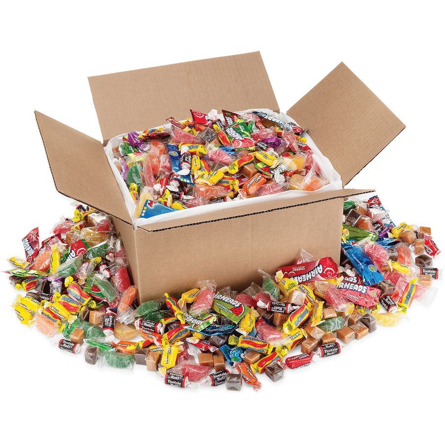 Ofx00086 Office Snax Soft Chewy Assorted Candy Mix Office Supply Hut