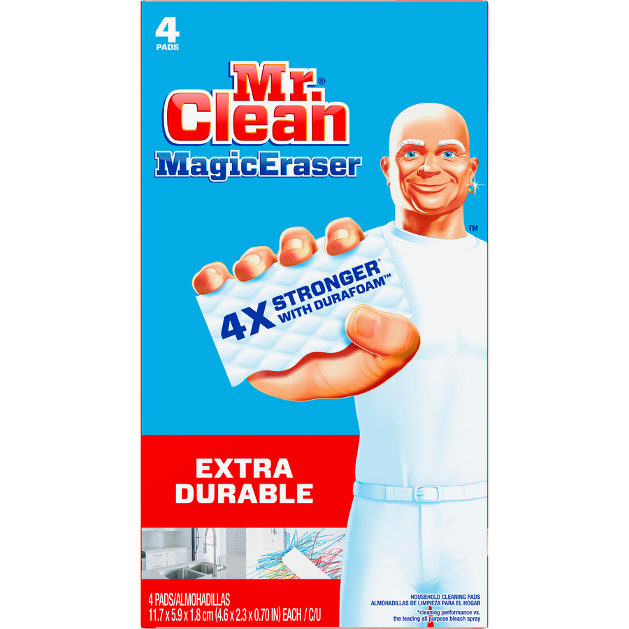 Mr Clean Procter Gamble Magic Eraser Extra Durable Pads