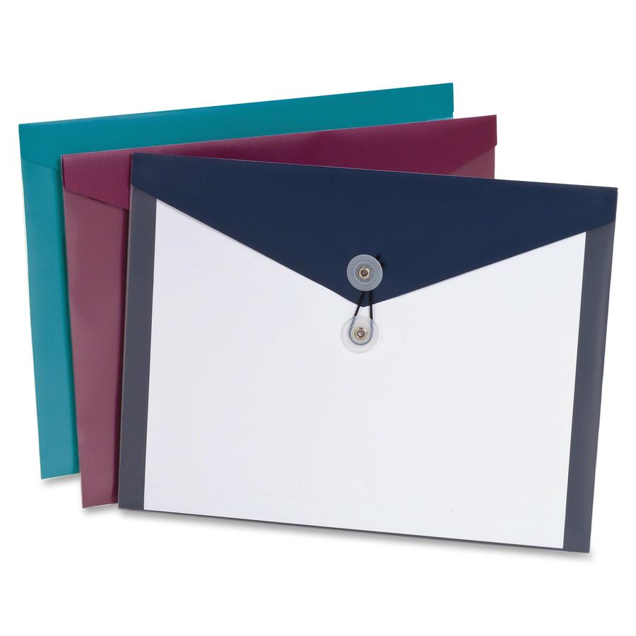 Pendaflex ViewFront Poly Envelopes