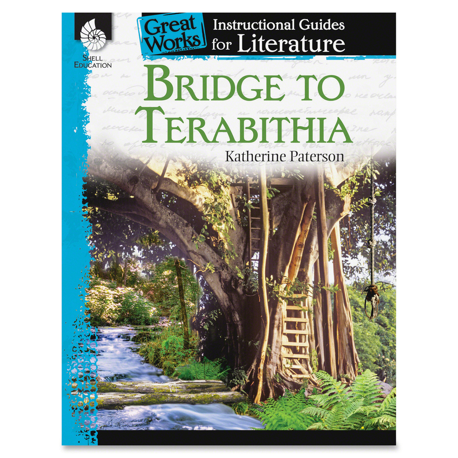 Shell Bridge To Terabithia Instr Guide Education Printed Book By Katherine Paterson 72 Pages
