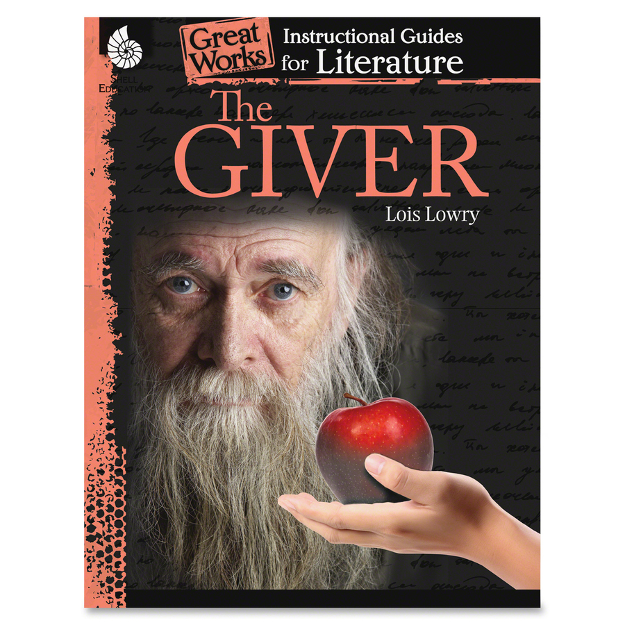 Book Cover Ideas For The Giver : Shell the giver an instructional guide education printed