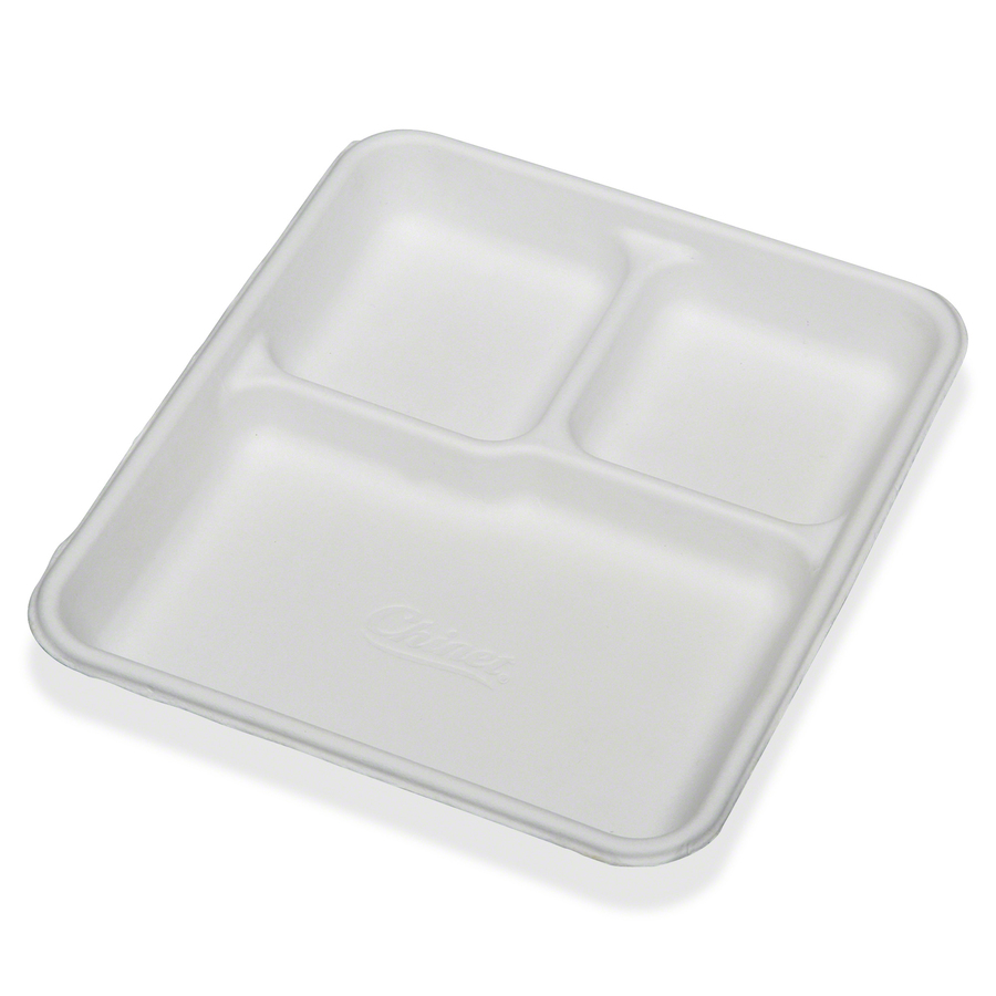 Wholesale Skilcraft 3 Compartment Disposable Plates Nsn9269233