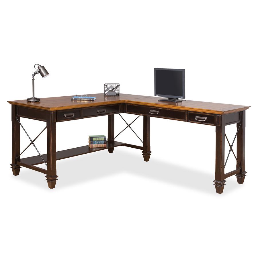Kathy Ireland Hartford Right Hand Facing Open L Shaped Desk Mrtimhf386rrr Original