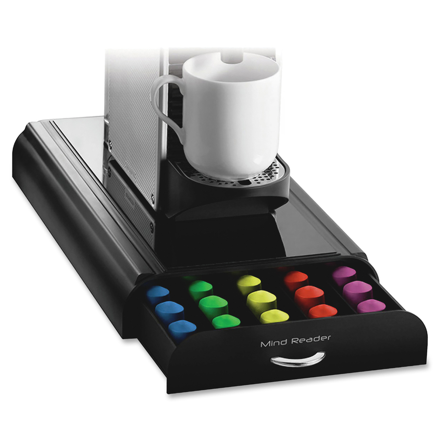 Bulk Mind Reader Coffee Pod Anchor Drawer EMSNESTRY4PCBLK