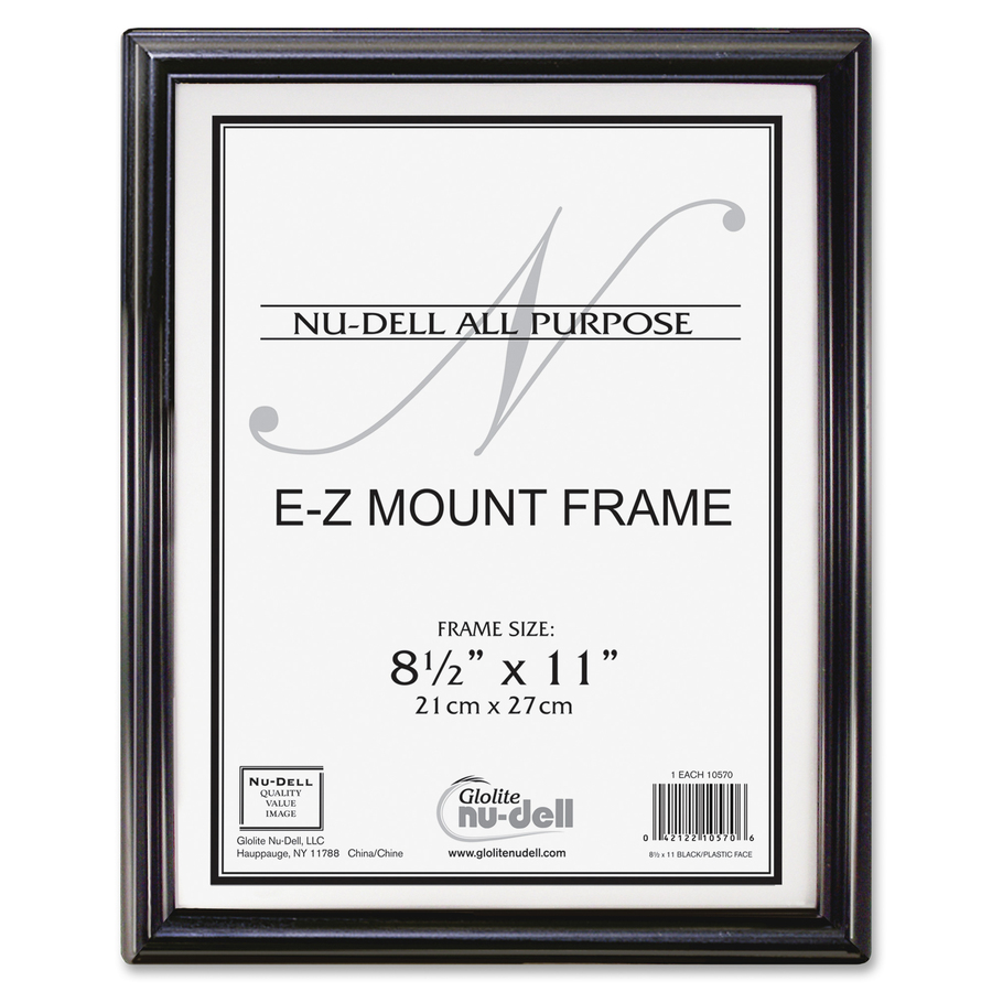 Glolite Nu-dell NuDell E-Z Mount Frames - Direct Office Buys