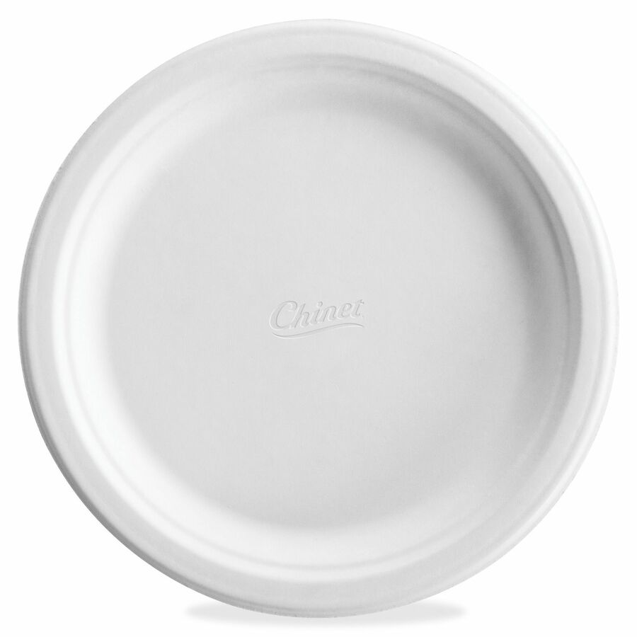 Chinet Classic White Molded Plates 8.75  Diameter Dinner Plate - Paper - Disposable - Microwave Safe - 125 Piece(s) / Pack  sc 1 st  Direct Office Buys : chinet dinner plates - Pezcame.Com