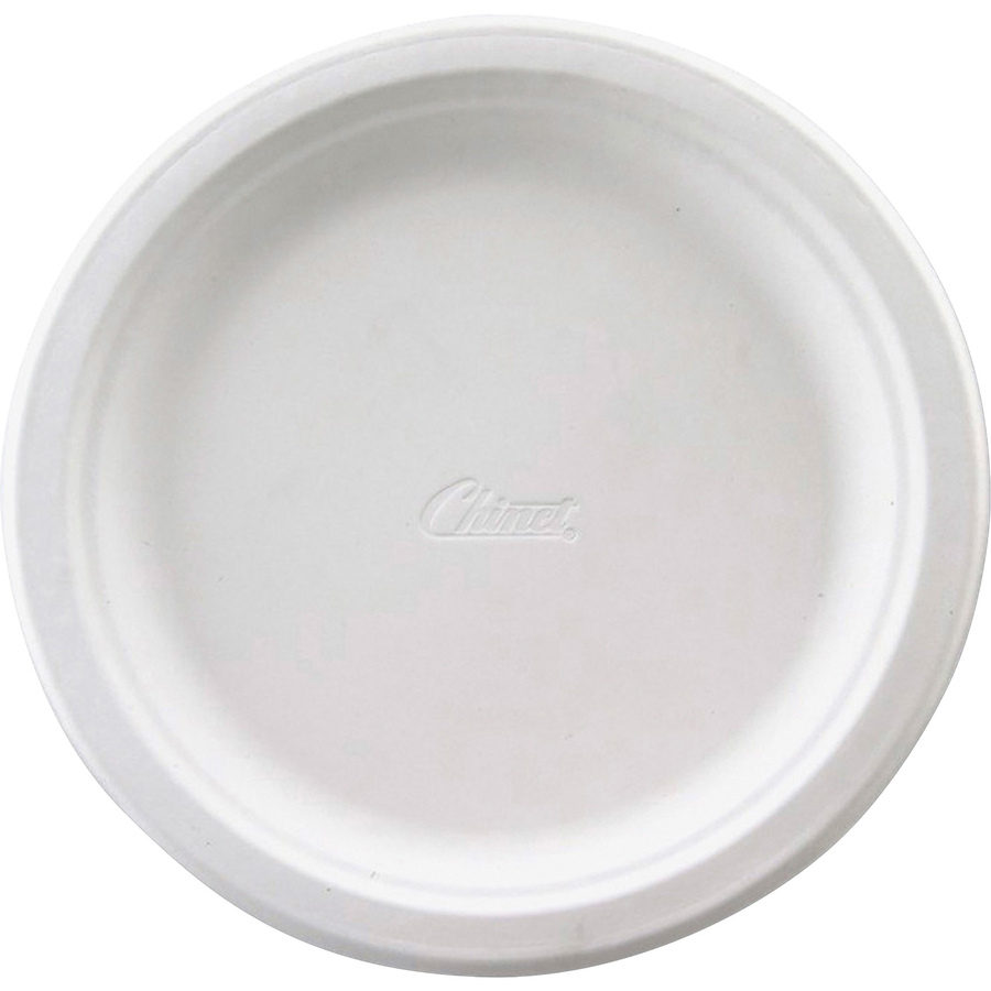 Chinet Classic Round White Paper Plates 9.75\  Diameter Plate - Paper Plate - Disposable - Microwave Safe - 1000 Piece(s) / Carton  sc 1 st  Office supply hut & HUHVAPOR - Chinet Classic Round White Paper Plates - Office Supply Hut