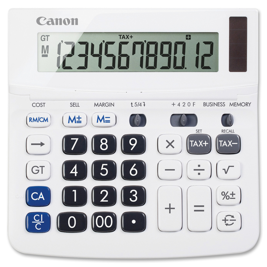 Canon tx-220ts handheld display calculator tilt display.