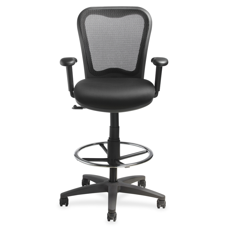 Wholesale Lorell Mesh Back Drafting Stool Llr25981 In Bulk