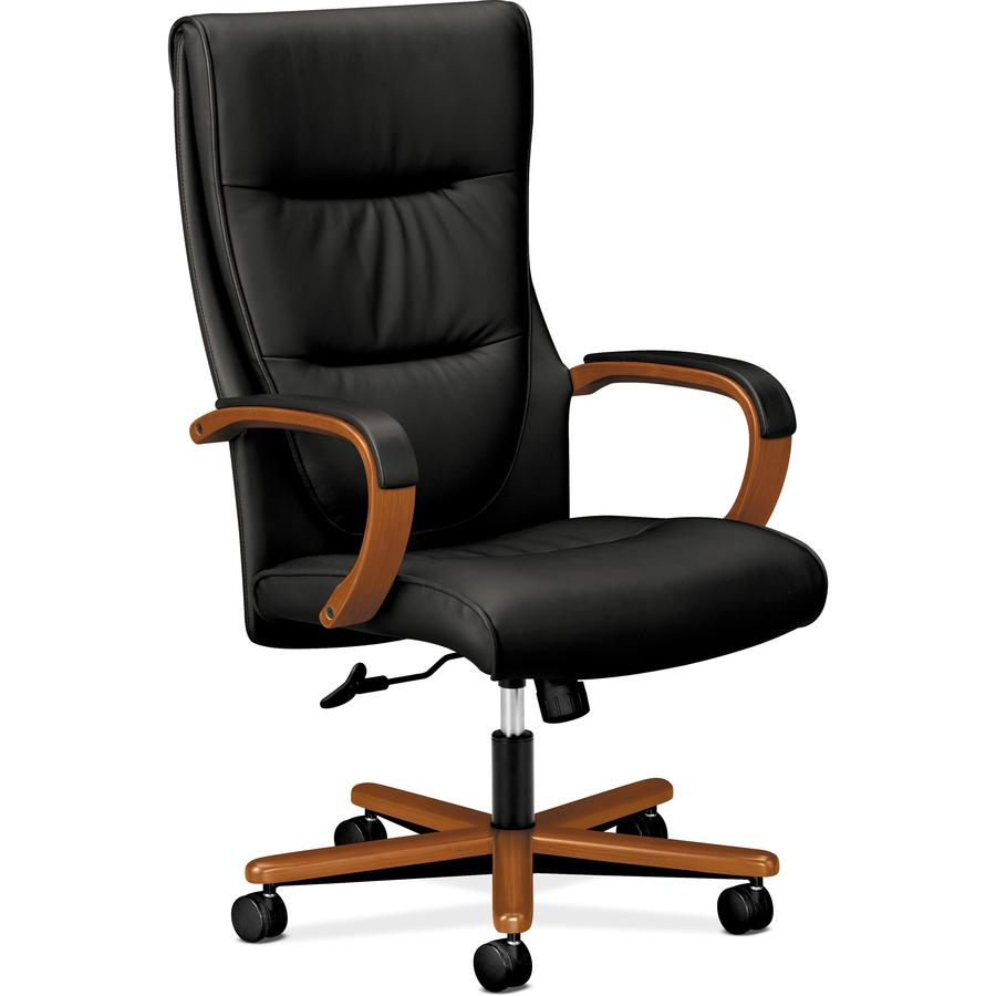 bsxvl844hsb11 basyx by hon hvl844 executive high back chair