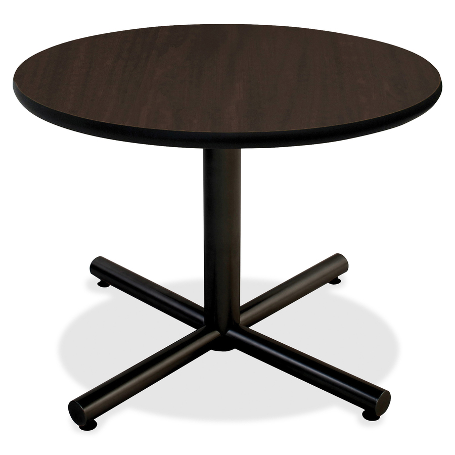 Round Tabletop Top 1 Table Thickness X 42 Diameter Assembly Required Espresso High Pressure Laminate Hpl Particleboard