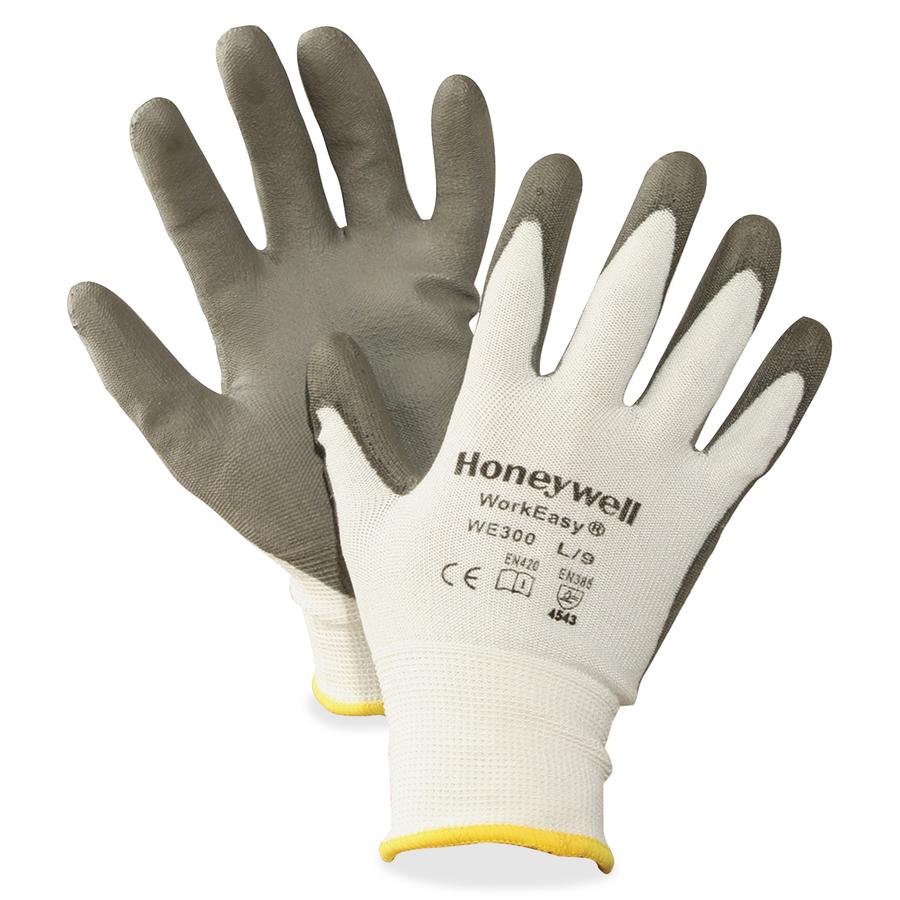 Honeywell International, Inc North Workeasy Dyneema Cut Resist Gloves -  Polyurethane Coating - Medium Size - High Performance Polyethylene (Hppe)