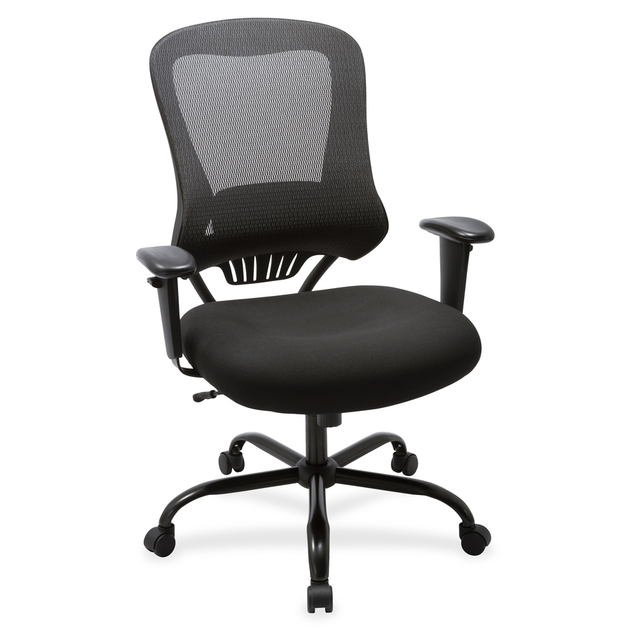 lorell big and tall mesh back executive chair icc business