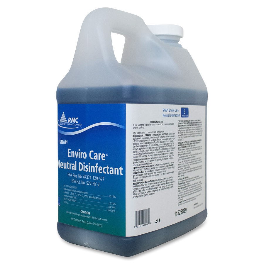 RMC Enviro Care Disinfect Cleaner - Concentrate - 0 50 gal (64 fl oz